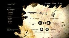 Loadout screen Resistance 3 Multiplayer