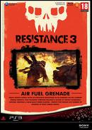 Resistance 3 Pre-order Air Fuel Grenades