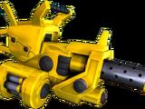 Golden Heavy Machine