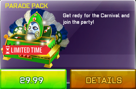 Parade Pack