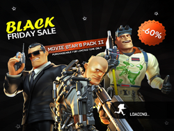 Movie Star's Pack 2 load page