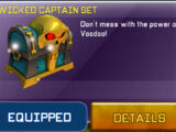 Wicked Captain Set