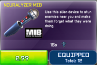 Neuralyzer MIB View