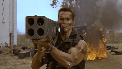 Commando-Matrix-Firing Rocket Launcher