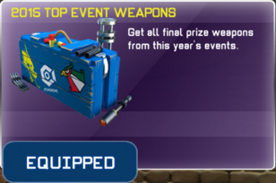 2015 Top Event Weapons