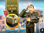 Decorated Soldier Set