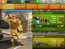 Better quality double barrel shotgun skin image