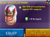 Rudo Wrestler Mask