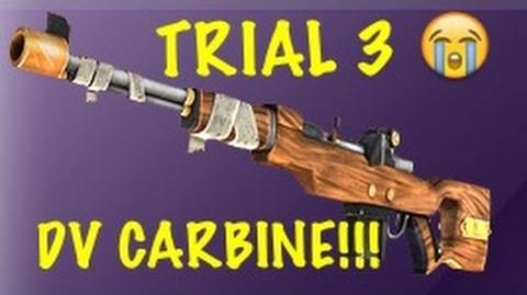 Trial 3 DV Carbine! All Tiers Full On Event Respawnables