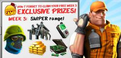 Week 3 Prizes