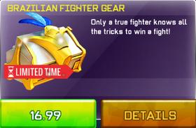 Brazillian Fighter Gear