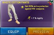 WhiteCottonPants