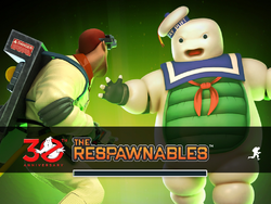 Ghostbusters Loading Page