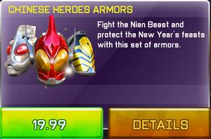 China Heroes Armors