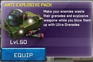 Anti-Explosive Pack View
