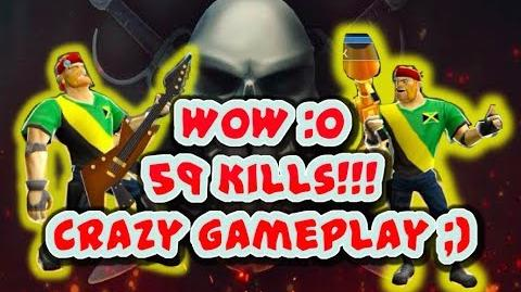 Respawnables Claiming the last tier & Golden Bazooka Deadly Gameplay O 59 kills OMG!!!