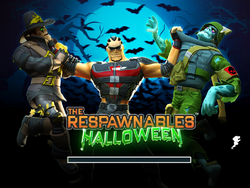 Halloween load page