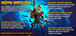 Shadow Hunter Pack from Facebook