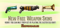 New Free Weapon Skins