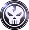 Skull Thunder Badge