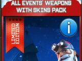 All Events' Weapons With Skins Pack