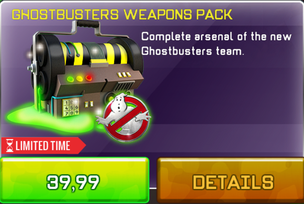 Ghostbuster Weapon Pack3