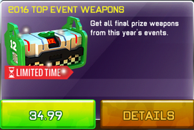 2016 Top Event Weapons Pack