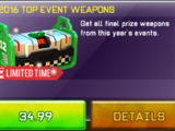 2016 Top Event Weapons