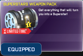 Superstars Weapon Pack