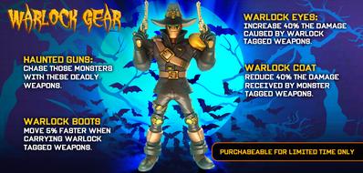 Warlock Gear from Facebook