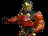 Red Hero Armor