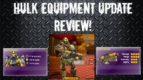 Hulk Equipment Update REVIEW Respawnables
