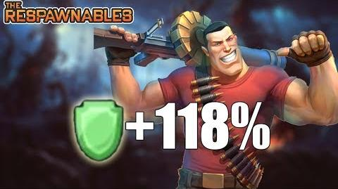 Respawnables 118% Health TANK JUGGERNAUT BUILD!