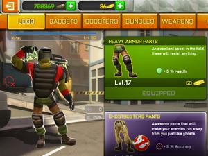Heavy Armor Pants