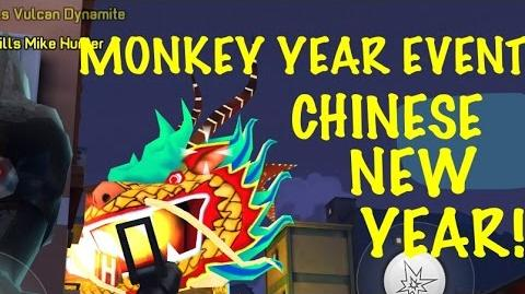 Monkey Year Event Chinese New Year Respawnables