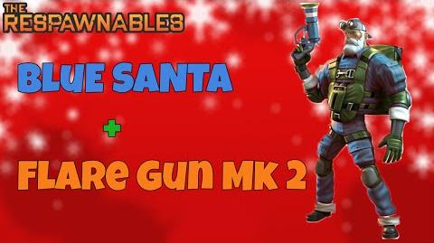 Respawnables - Blue Santa Flare Gun MK 2-0