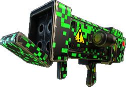 Green Pixel Skin