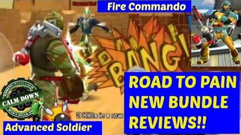 Fire Commando and Advanced Soldier Respawnables