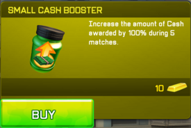 Small Cash Booster
