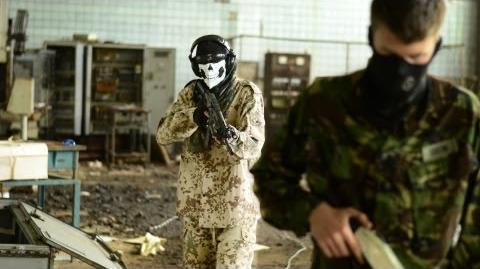 Call of Duty Ghosts - Real Life First Person Shooter