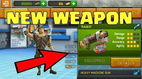 "Respawnables - I GOT NEW WEAPON ""RAGER""??? Rager GAMEPLAY and Stats"