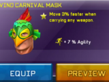 Wind Carnival Mask