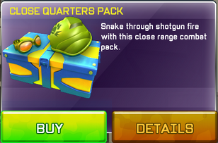 Close Quarters Pack view