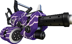 Purple Lightning Skin