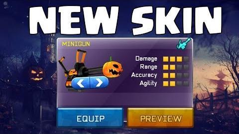 """Respawnables - NEW """"Pumpkin Minigun"""" Skin LEAKED! 6.0.0 Halloween Update"""