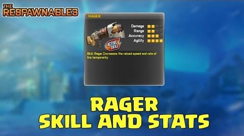 "Respawnables - ""RAGER"" Active Skill Stats OVERVIEW Confirmed New Weapon"