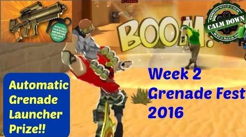 Auto Grenade Launcher! Grenade Fest 2016 Respawnables