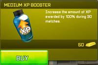 Medium XP Booster
