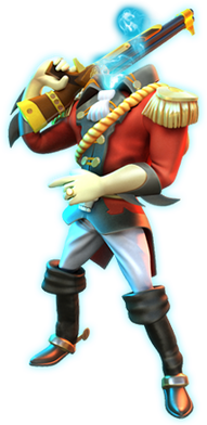 Headless Baron mascot