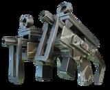 Dual Rookie Machine Guns